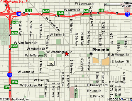 Phoenix Map Industrial Commission Of Arizona