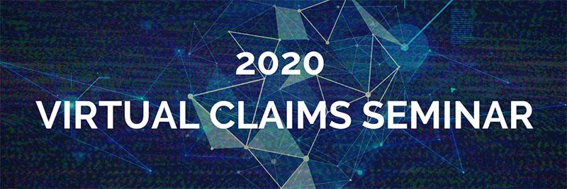 Claims Seminar 2020 Banner