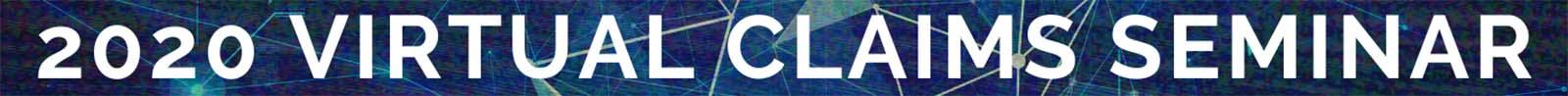 Claims Seminar 2020 Banner 1600x98
