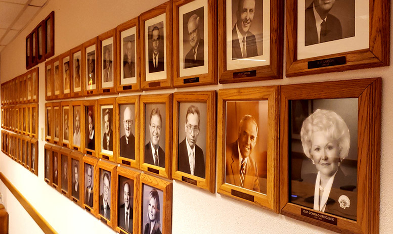 Commissioner Picture Wall 2